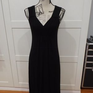 Oscar de la Renta Black Pink Label Nightgown XS